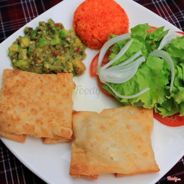 vegetarian-chimichangas