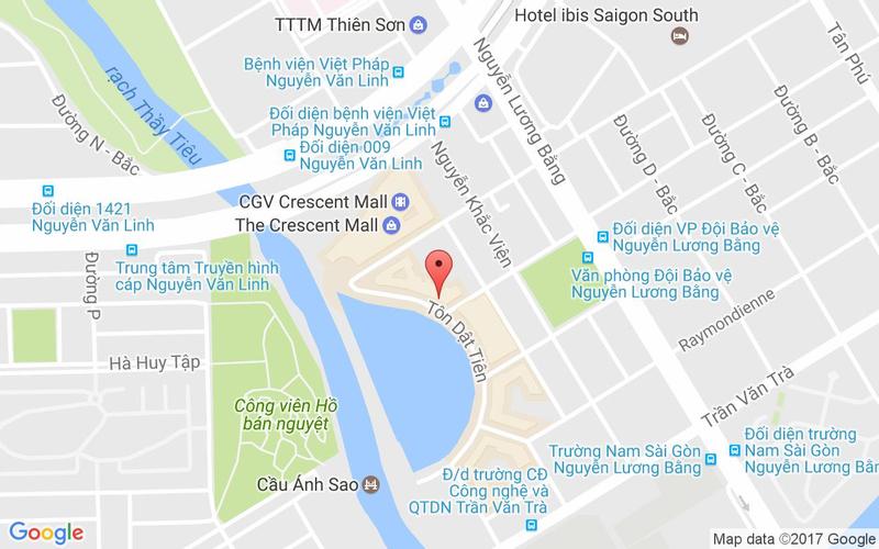 Bản đồ - Lẩu Hoàng Yến - Phú Mỹ Hưng