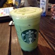 ice green tea latte