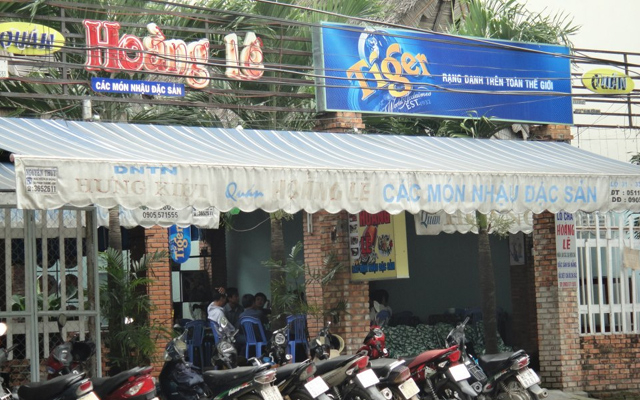 Quán Hoàng Lê - Nhậu Đặc Sản ở Đà Nẵng