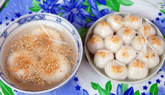 Kết quả hình ảnh cho Bánh trôi tàu bác Phạm Bằng foody.vn