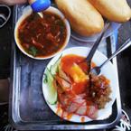 Bánh mỳ thâp cẩm - sốt vanggg