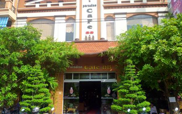 Khu đài phun nước đường Hùng Vương Tp. Bắc Giang Bắc Giang