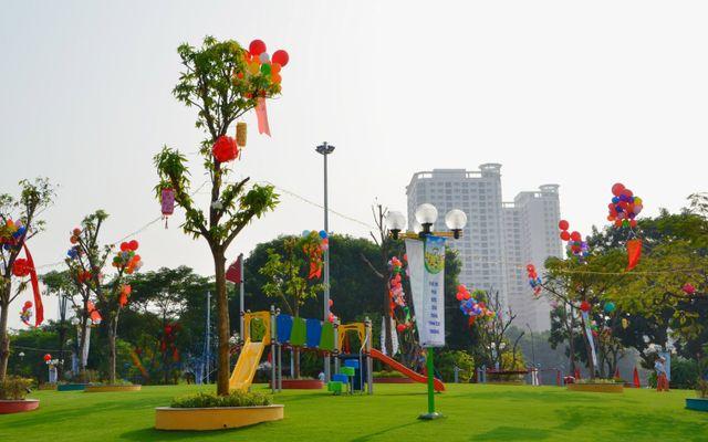 Công Viên Nghĩa Đô ở Hà Nội
