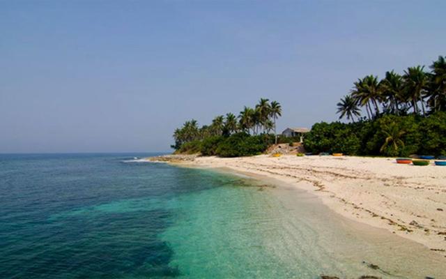 Đảo An Bình - Đảo Bé Lý Sơn ở Quảng Ngãi