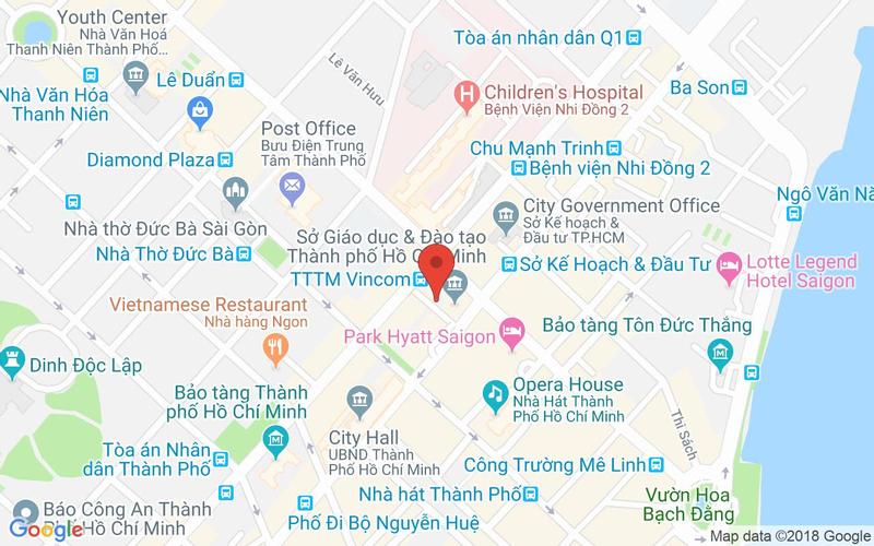 Bản đồ - Bugis Singapore - Ẩm Thực Singapore - Vincom Center
