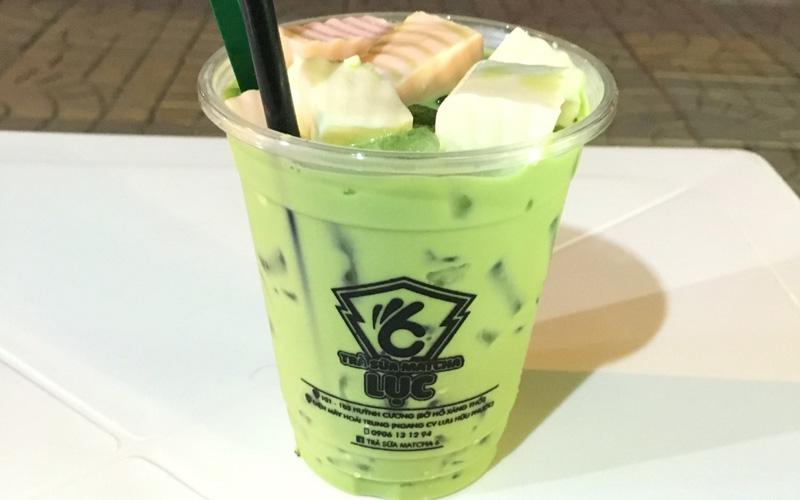 Trà Sữa Matcha Lục - Huỳnh Thúc Kháng