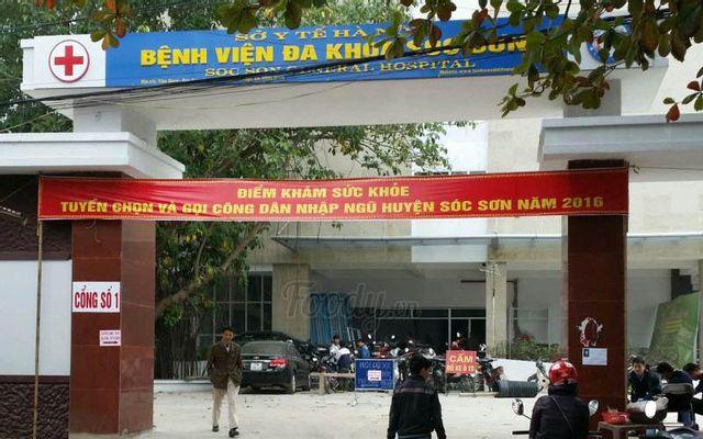 Bệnh Viện Đa Khoa Sóc Sơn ở Hà Nội