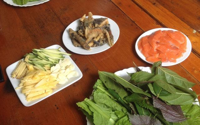 Cá Hồi Vườn Đào - Mộc Châu ở Sơn La