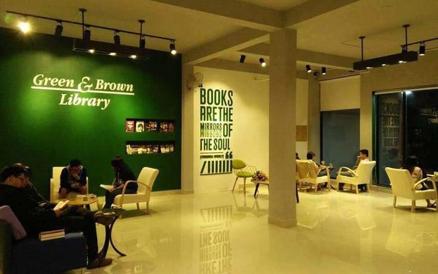 Green & Brown Bookstore