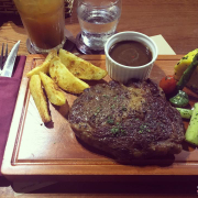 Beef steak Black Angus 300 Gr