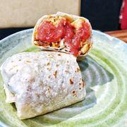 Chorizo/Potato/Egg Burito 155k