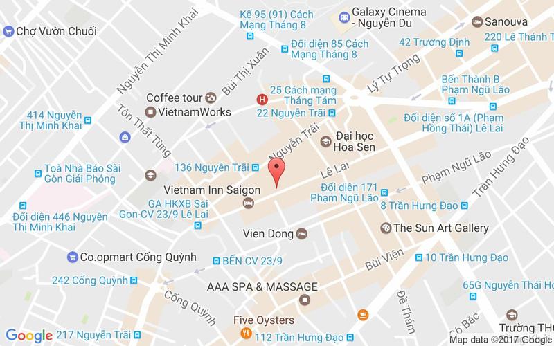 Bản đồ - Dimsum House - Dimsum & Cháo Ếch - Lê Lai