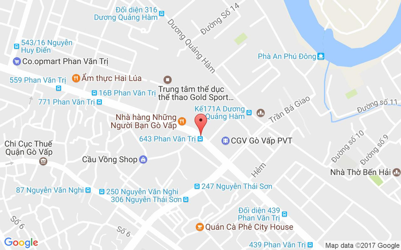 Bản đồ - Gyu-Kaku Japanese BBQ - Vincom Plaza Gò Vấp