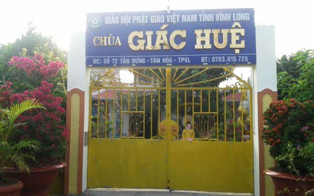 Chùa Giác Huệ ở Vĩnh Long