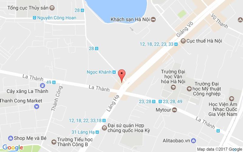 Bản đồ - T+ Beer Club - Ngọc Khánh