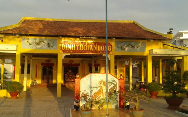 Đình Thần Thới An Đông ở Cần Thơ