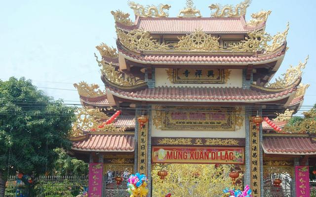 Chùa Hưng Thiền ở Đồng Tháp