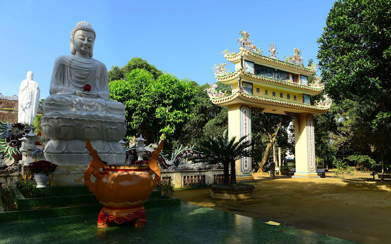 Chùa Thiên Ấn ở Huyện Sơn Tịnh, Quảng Ngãi