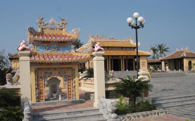 Đền Thoại Ngọc Hầu ở An Giang