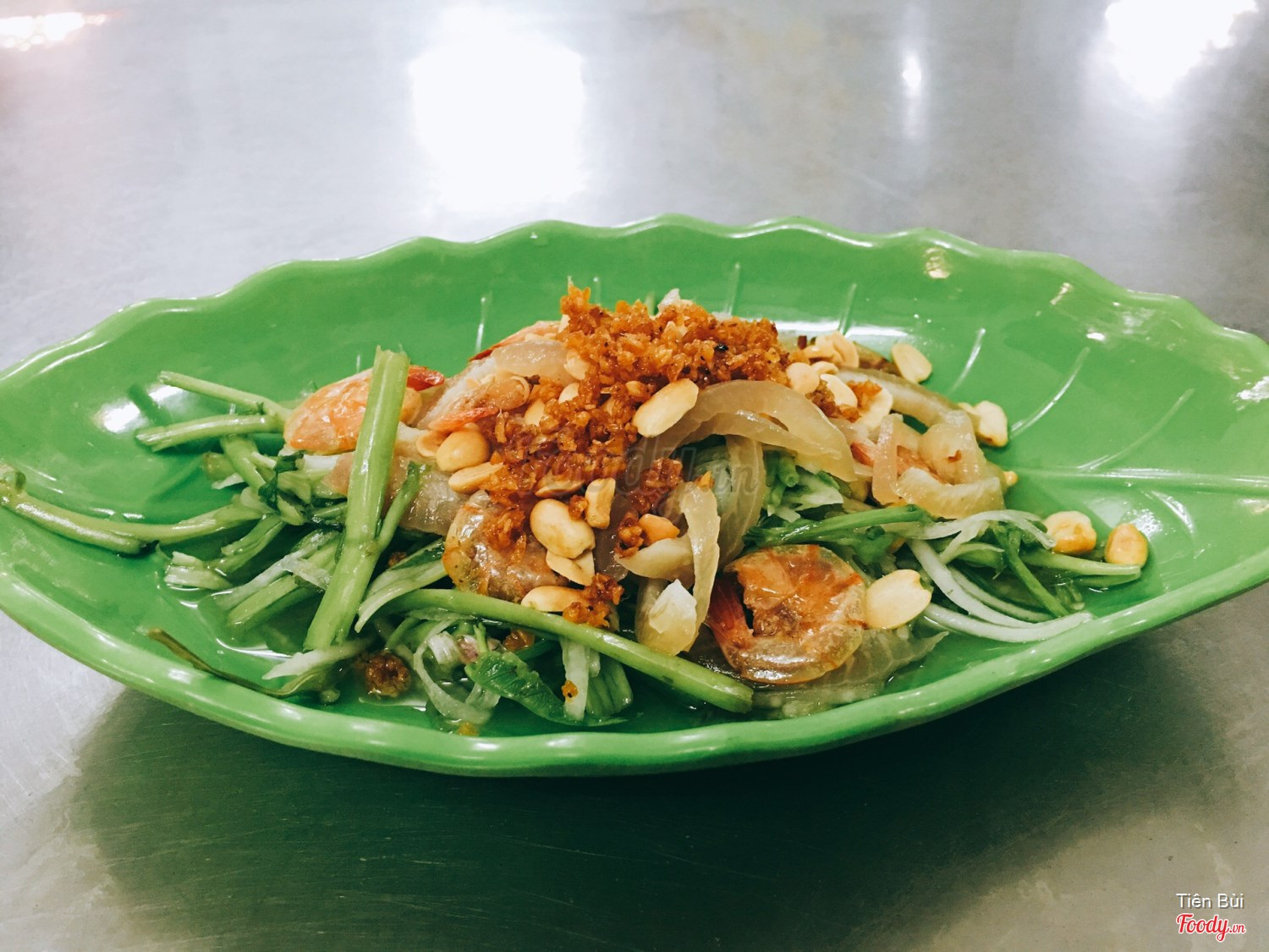 Image result for Gỏi rau muống  foody