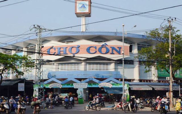 Chợ Cồn - Ông Ích Khiêm ở Đà Nẵng