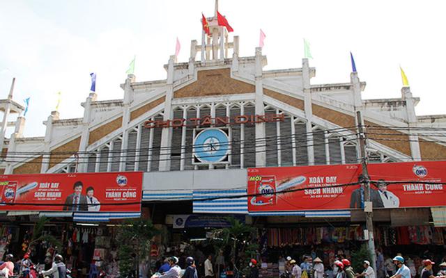 Chợ Tân Định ở TP. HCM