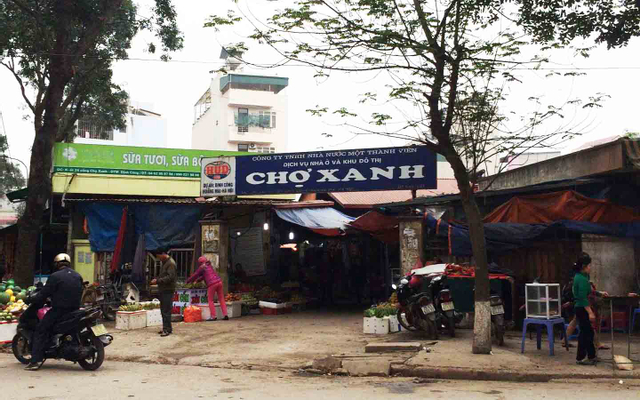 Chợ Xanh - KĐT Định Công ở Hà Nội