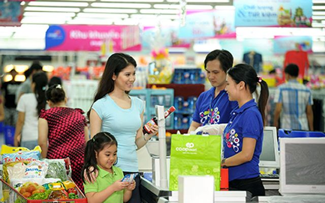 Co.op Mart Bến Lức ở Long An