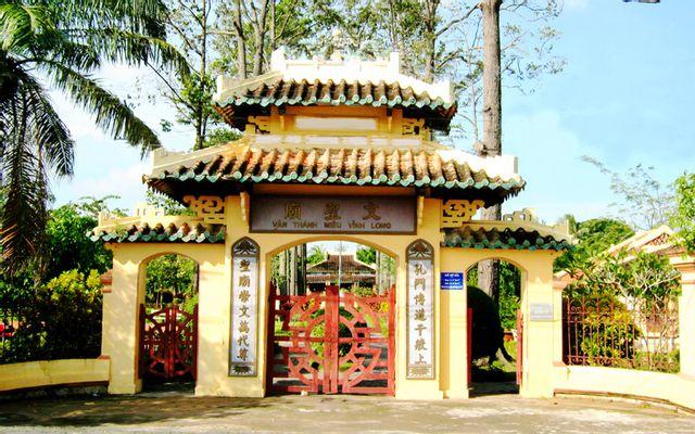 Văn Thánh Miếu ở Vĩnh Long