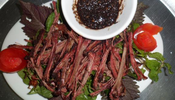 Image result for thịt trâu gác bếp foody.vn