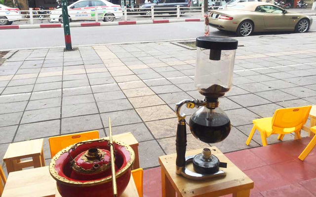 Trọc Cafe ở Hà Nội