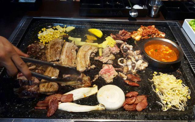 Ba Chỉ Ba Chỉ Korean Style - Thịt Nướng Đá