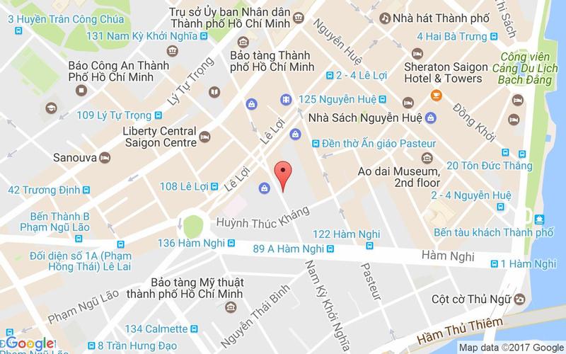 Bản đồ - Yen Sushi & Sake Pub - Nam Kỳ Khởi Nghĩa