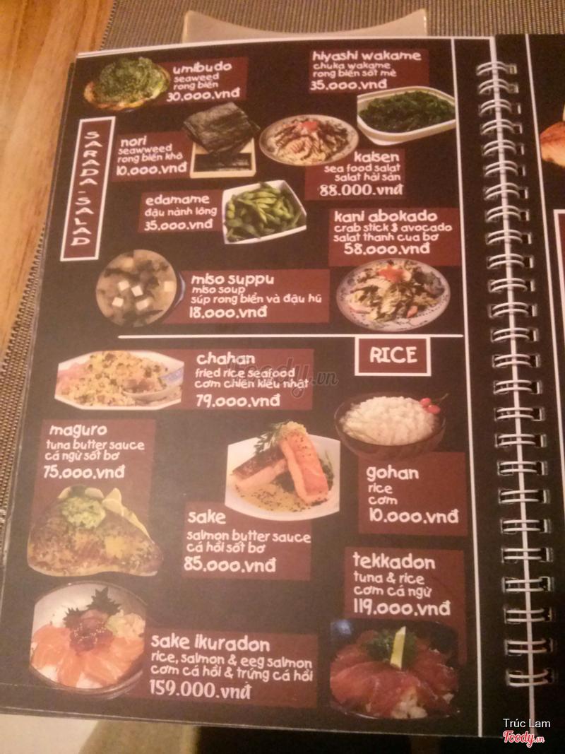 kyodai menu
