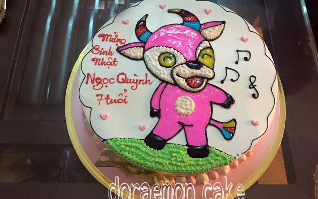 Doraemon Cake ở Hòa Bình