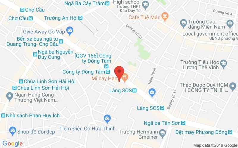 Bản đồ - Lẩu Cua Đất Mũi - Quang Trung