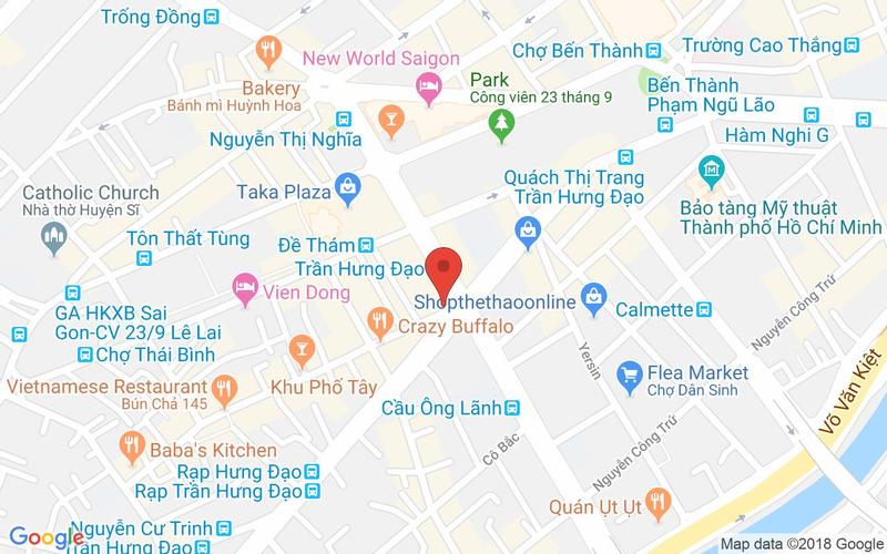 Bản đồ - Baozi - Ẩm Thực Đài Loan - Nguyễn Thái Học