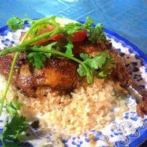 Cơm Gà Xối Mỡ - 364 Nơ Trang Long