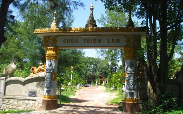 Chùa Thiền Lâm - Thủy Xuân ở Huế