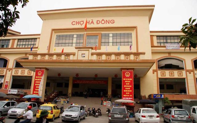Chợ Hà Đông ở Hà Nội