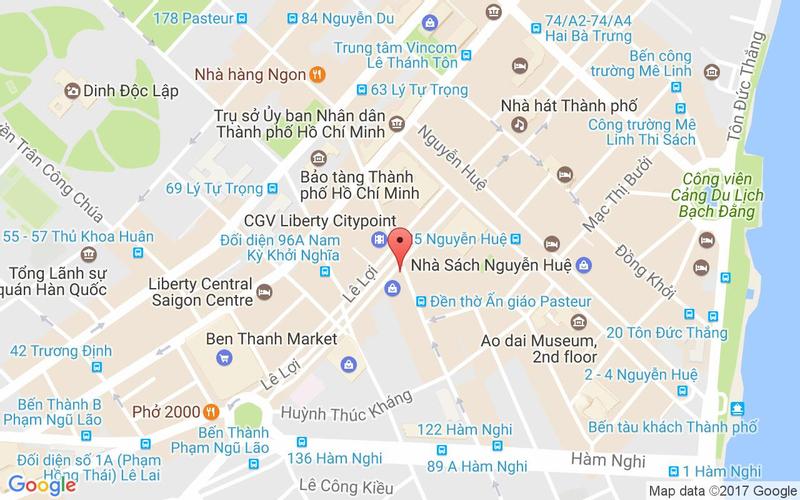 Bản đồ - Basta Hiro - Pasta & Pizza - Saigon Centre