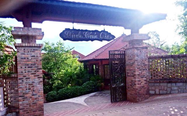 Tịnh Trúc Gia Tea House ở Huế