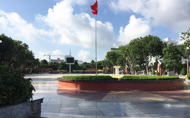 Quảng Trường Thành Phố Vĩnh Long ở Vĩnh Long