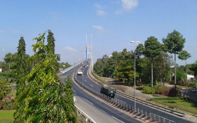 Cầu Mỹ Thuận ở Vĩnh Long