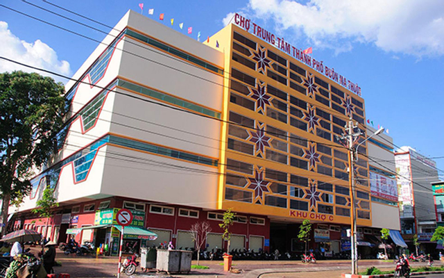 Chợ Buôn Ma Thuột ở Đắk Lắk