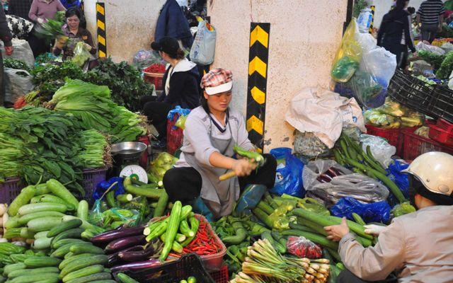 Chợ Thành Công ở Hà Nội