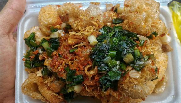 Image result for da heo chiên foody.vn