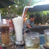 Cafe Sân Vườn A Béo