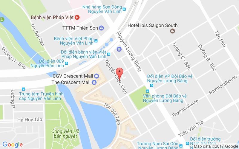 Bản đồ - Shang Garden - Nhà Hàng Món Hoa & Món Á